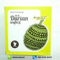 Durian Wafers by Lapin (80 gram)