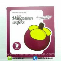 Mangosteen Wafers by Lapin (80 gram)