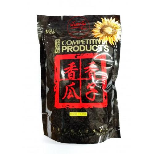 เมล็ดทานตะวันอบกรอบ พรีเมี่ยม ซองดำ  (230 กรัม)