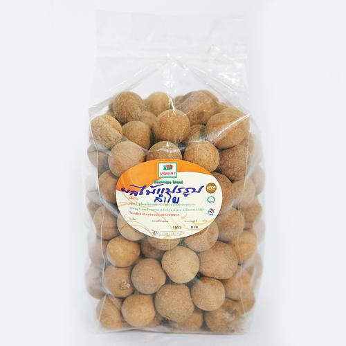 ลำไยอบแห้ง ชนิดมีเปลือก (500 กรัม)