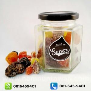 ผลไม้รวมอบแห้ง กระปุกแก้ว (400 กรัม)