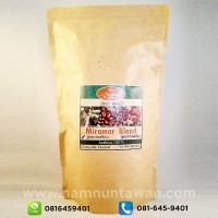 Miramar Blend Arabica 100% for hot coffee..