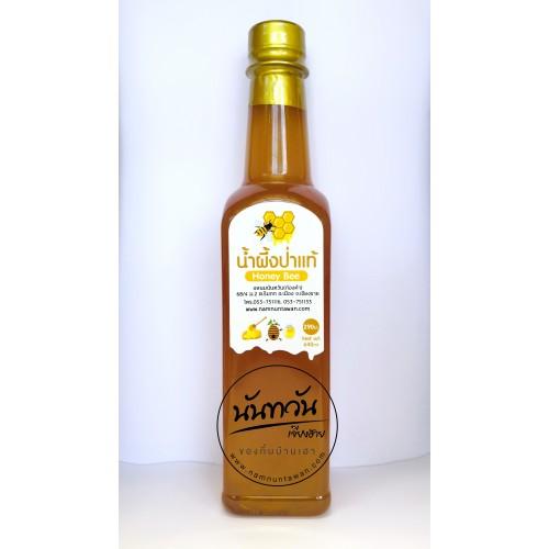 น้ำผึ้งป่าแท้ 100 % นันทวัน น้ำหนัก 640 ml.